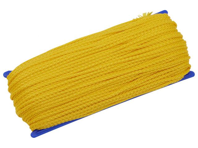 CAMPZ Cuerda universal - Accesorios para tienda de campaña - 50m 3mm amarillo